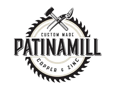 Patinamill   logo design