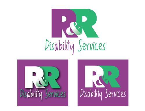 R&R Disability Services   logo design