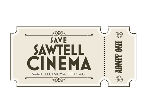 Save Sawtell Cinema | logo design