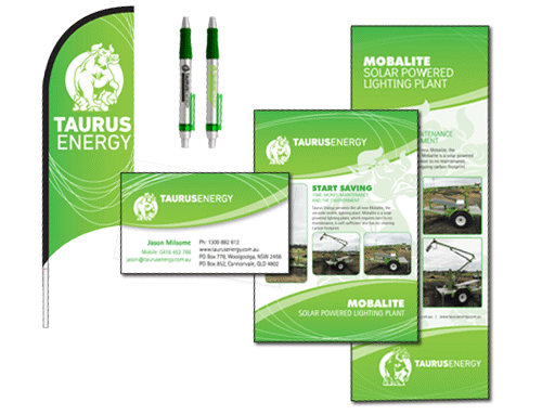 Taurus Energy | Business Branding