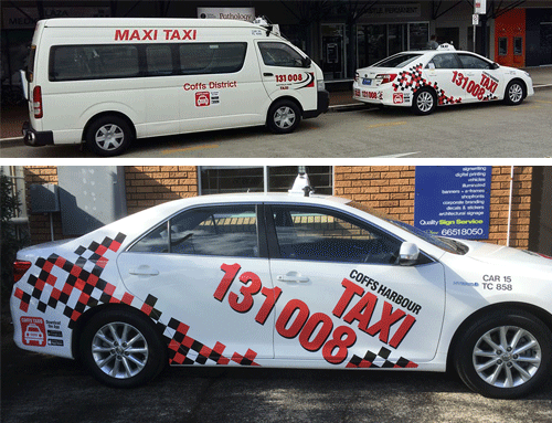 Coffs Taxis | Business Branding