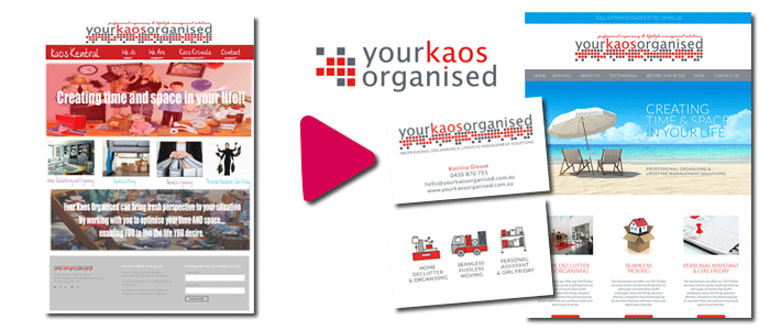 Before & After: Your Kaos Organised